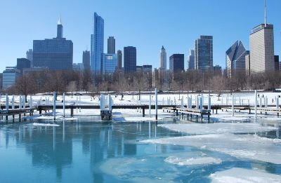 Brr, it's chilly in Chicago